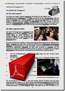 Geschichte des Computers TEXT