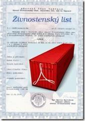 Živnostenský list - Překlady - IKON 002