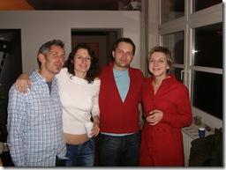 S přáteli na párty v Berlíně, 2005