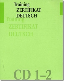 Training Zertifikat Deutsch CD